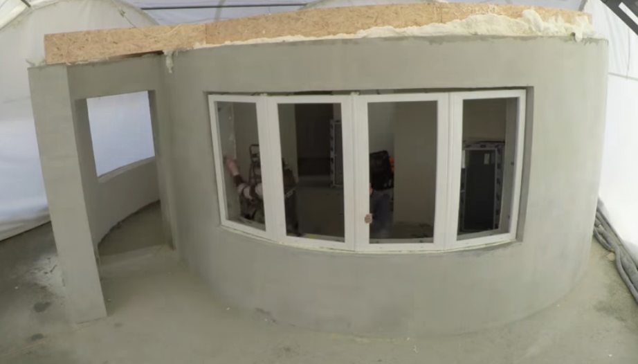 Construir una casa en 24 horas mediante impresoras 3d for Construir casas en 3d